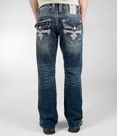 $117 Rock Revival Clive Boot Jean