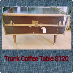 Need a Trunk Coffee Table to add some flavor to your living room? We have one of those! #thatoneplace #everythingunique #junkinjoplin