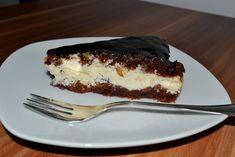 Pasca poloneza cu branza dulce si glazura de ciocolata
