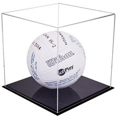 Basketball Volleyball Or Soccer Terrific Value Bcw Deluxe Acrylic Ball Stand Hold Football
