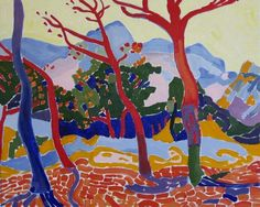 Andre Derain.   See The Virtual Artist gallery: www.theartistobjective.com/gallery/index.html