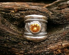 Classic Susan Roos engraved silver ring  US by SusanRoosJuwele, $275.00