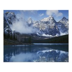 Canada, Alberta, Banff National Park, Lake Posters