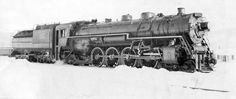 Photo of Canadian National 6057 after the 1939 Royal Train