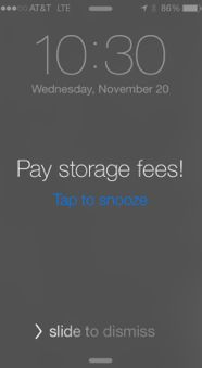 Put a reminder on your phone or calendar to make sure you don't forget to pay storage fees to your fertility clinic or sperm bank. (Lee B) #CancerHacks
