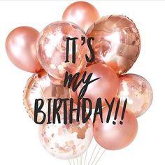 Happy birthday to me! Mix and Chic: Happy birthday to me! Happy Birthday To Me Quotes, Birthday Girl Quotes, Today Is My Birthday, 23rd Birthday, Happy Birthday Images, Happy Birthday Wishes, Birthday Greetings, Humor Birthday, Its My Bday