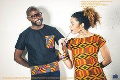 Absolument sous le charme de la nouvelle collection de la marque Sanouyé. La collection porte un nom original « Mi Sé Sa Mwen Yé », une expression provenant du créole guadeloupéen signifiant « Voilà ce que je suis ». En effet, à travers ses créations, la créatrice entend révéler les différentes femmes qu'elle est du fait de mes nombreuses ... African Inspired Fashion, African Print Fashion, Africa Fashion, Tribal Fashion, Fashion Prints, African Print Clothing, African Prints, Nom Original, Fashion Couple