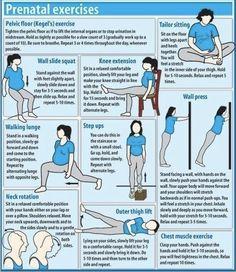 Good pregnancy workout