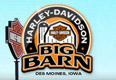 Big Barn Harley-Davidson - Des Moines, IA - Click the logo to view their new & used motorcycle inventory. http://www.chopperexchange.com/dealers/display/hd.asp?id=481#