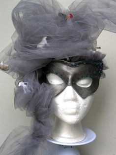 Tornado Venetian Carnivale Mask. LOVE THIS!!!!