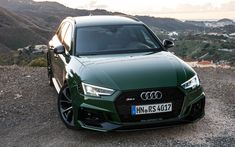 Download wallpapers Audi RS4 Avant, 4k, 2017 cars, offroad, new RS4, Audi