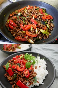 Asian Recipes, Healthy Recipes, Ethnic Recipes, China Food, Dinner Is Served, Meal Prep, Wok, Food Porn, Good Food