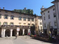 """Detailed maps and GPS navigation for the bike Tour: """"Arco Hauptplatz – Hafen Riva del Garda Loop from Riva del Garda"""" h km Riva Del Garda, Gps Navigation, Touring, Italy, Bike, Mansions, Park, House Styles, Holiday"""