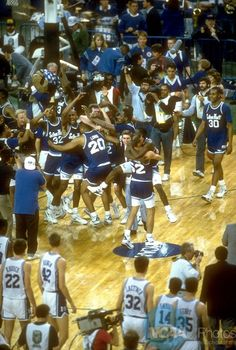 Seton Hall Pirates over Duke Blue Devils (Final Four).  On April 1, 1989, Seton Hall upset Duke 95-78 in the NCAA Men's Basketball Final Four semifinal in Seattle, Washington.  Having Seton Hall advance to the Final Four and eventually the championship game made me feel very proud to have grown up in South Orange, NJ. #SetonHall