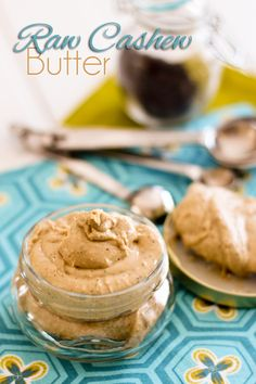 Raw Cashew Butter | www.thehealthyfoodie.com