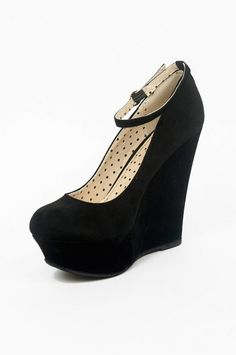 Women Pamela Ankle Strap Wedges