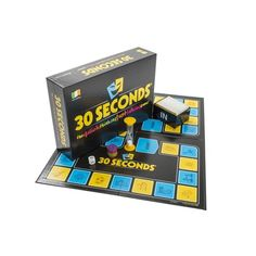 30 Seconds Quick Think and Fast Talking Game For Adults and Kids Puzzle and Fun Board Game Family Board Games, Fun Board Games, Games To Play, Board Game Online, Online Games, Quick Thinking, Hobby Supplies, Puzzle Books, Adult Games
