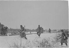 Suomalaiset saivat Muurmannin radan osan haltuunsa Itä-Karjalassa jo syksyllä 1941.