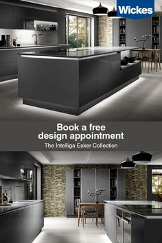 Book your free design appointment at Wickes today. We're here to help create your dream space; from inspiration to installation Kitchen Interior, Interior Design Living Room, Kitchen Design, Interior Livingroom, Kitchen Ideas, Cuisines Diy, Cuisines Design, Diy Kitchen Storage, Living Room Kitchen