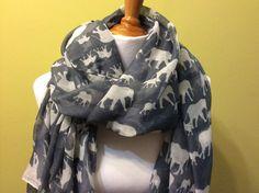 Neck Warm Scarf  Pretty fashion spring scarf by Natalyfashion, $18.50
