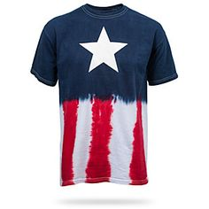 Even superheroes need a t-shirt to relax in, and what better than this awesome-looking, tie-dye t-shirt for chilling out at an outdoor barbeque?