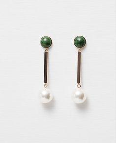 Image 1 of LONG EARRINGS from Zara