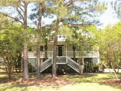 Beautiful Elevated home in desirable Darrell Creek neighborhood in Mount Pleasant. Master on main level 2 bedrooms with 2 ensuite bathrooms upstairs with loft area. Formal dining room eat in kitchen open floor plan. Large screen porch and deck. Porch Plans, Ensuite Bathrooms, Mount Pleasant, Eat In Kitchen, Open Floor, The Neighbourhood, Sweet Home, Bedrooms, House Ideas
