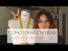 CLASE 1 CORTE Y CONFECCION, COMO TOMAR MEDIDAS, PRINCIPIANTES - YouTube