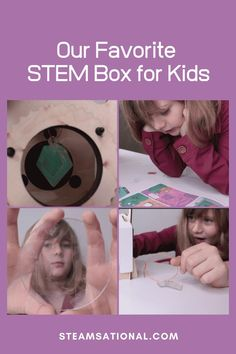 When we want to get a STEM box for kids that includes other types of science, or that already comes with everything we need, we turn to Mel Science.