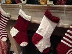 Ravelry: Jumbo Christmas Stocking in a Jiffy - Solid pattern by Jennifer Jackson