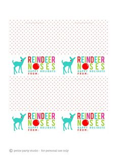 FREE bag topper printables