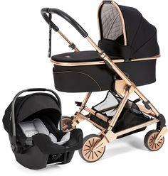 Mamas & Papas Urbo 2 Stroller, Signature Edition - Black / Rose Gold
