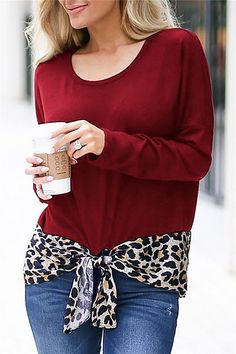 8fe3124905304 Pavacat Leopard Patchwork Loose Top Loose Tops, Blouses, Loose Tank Tops,  Shirt Blouses