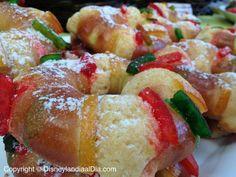 Deliciosas Mini Roscas de Reyes en Disneylandia!