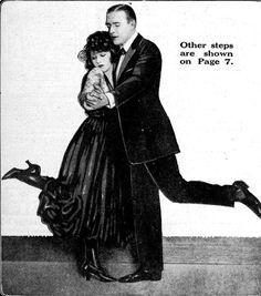 Days Gone By - 1920 Wally Reid & Bebe Daniels dance the tango
