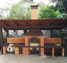 """Excellent """"built in grill patio"""" info is offered on our website. Have a look and you wont be sorry you did. Diy Grill, Grilling, Outside Grill, Built In Grill, Outdoor Kitchen Design, Brick, Pergola, Backyard, Outdoor Kitchens"""