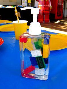 Lego hand wash for birthday prizes