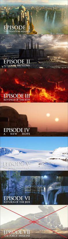 Star Wars Saga!