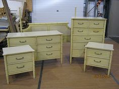 Vintage Henry Link Bali Hai- Have the high-boy dresser. WANT other pieces. Keep an eye out, people!!