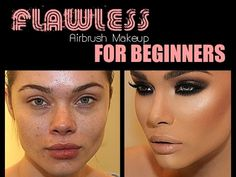 DIY Flawless Airbrush Makeup For Beginners HD - YouTube