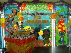 Lilo and Stitch Luau Birthday, Disney Birthday, Disney Theme, Birthday Ideas, Dominic King, Lilo Y Stitch, Luau Decorations, Party Themes, Party Ideas