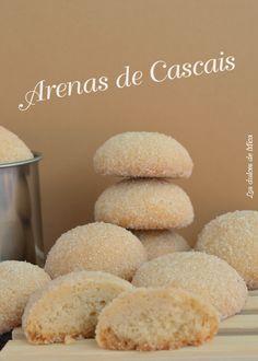 Arenas de Cascais caseras, un dulce típico de Portugal.