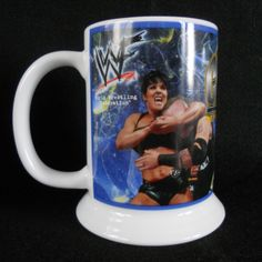 Chyna Wrestling Mug Stein 2001 WWF WWE Danbury Mint Collector w/ Box #DanburyMint #WWE #Chyna