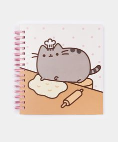 Baker Pusheen notebook - Hey Chickadee- DEFINITELY getting this to use as a recipe book for my baked goods ♥♥♥♥♥