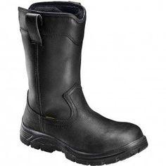 A7847 Avenger Men's SR Comp Toe Safety Boots - Black www.bootbay.com