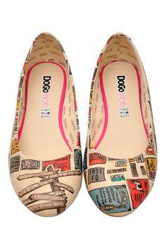 all over the world DOGO shoes Conversational Prints de0489d717f