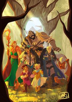Critical Role Characters, Critical Role Fan Art, Dnd Characters, Vox Machina, Dungeons And Dragons, Cute Art, Fantasy Art, Art Gallery, Character Design