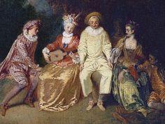 Art et culture...Les Fêtes galantes pleurent Watteau - Frawsy