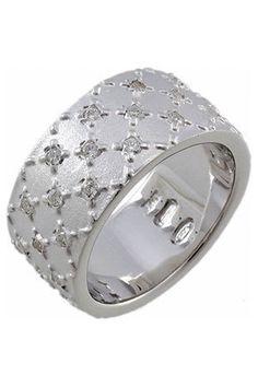 Pianegonda  Sterling Silver Ring In White