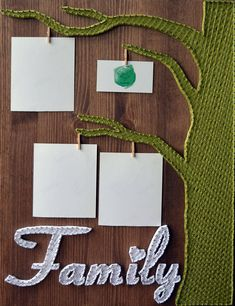 String Art family tree picture frame set #stringart #homedecor #ad #handmade #wallart #walldecor #pictureframe #anniversarygifts #weddinggifts #mothersdaygift #fathersday #familytree